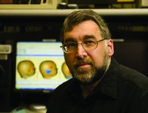 Neuroscientist Clifford Saron of the University of California, Davis.